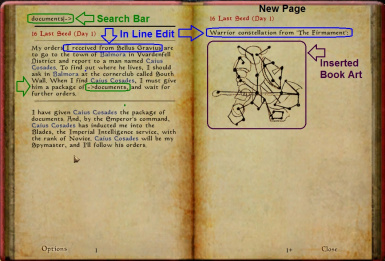 MWSE 2.1 Journal Search and Edit