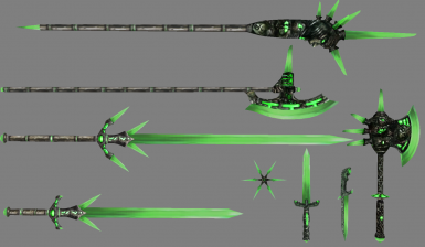 Smooth Glass Weapons
