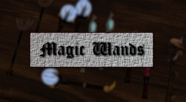Magic Wands for OpenMW