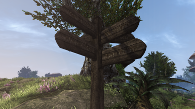 Swappable Texture Signposts