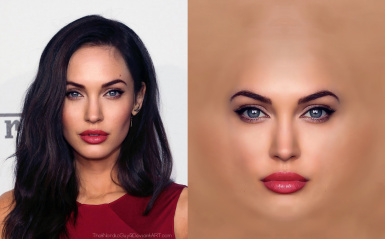 HD Heads - A Female Face and Hair Replacer