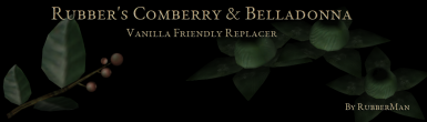 Rubber's Comberry and Belladonna replacer