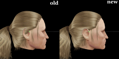 Races Redone - Hair and Helmet Fix