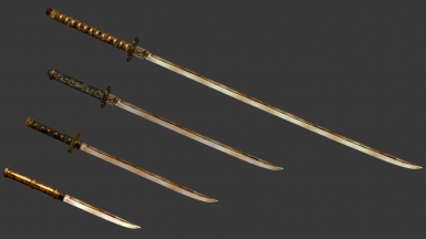Oriental Dwarven Weapon