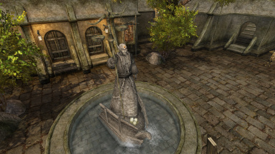 Brevur of Balmora - Finally Some Good Statue Mod