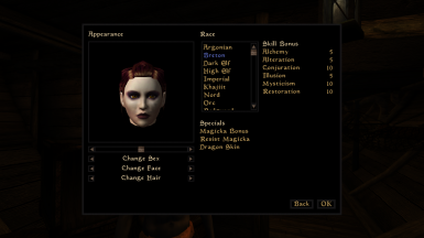 Morrigan-inspired witch face (Dragon Age)