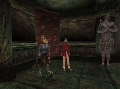 Mournhold Courtiers - Mournhold Palace Revamped Compatible