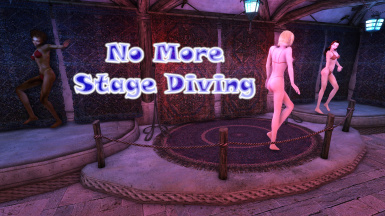 No More Stage Diving - Desele's Dancing Girls