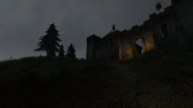 Rain at Fort Frostmoth