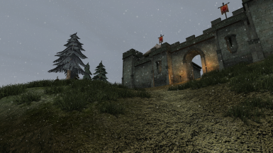 Snow at Fort Frostmoth