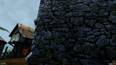 Rock Wall WITHOUT Normal Map