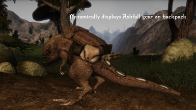 Guar Pack with Ashfall gear