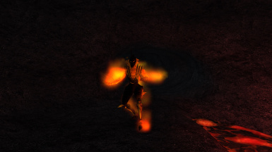 Luminous VFX Atronachs - Fire Atronach