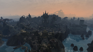 Sadrith Mora - seat of power of House Telvanni