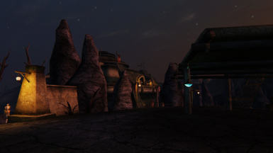 Molag Mar at night