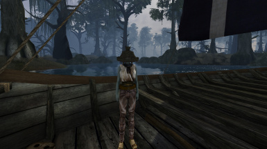 Fisherman hat and shirt for the shipmaster in Gnaar Mok