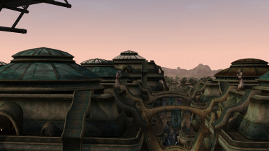 Glass Domes of Vivec - Performance-friendly Open-ish Cantons