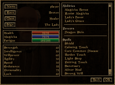 Healers spells allows them to cure wounds, diseases and dispel dangerous effects. They also get opportunities for non-violent approach and improved defensive abilities in case it failed.