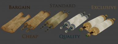 Scroll variants