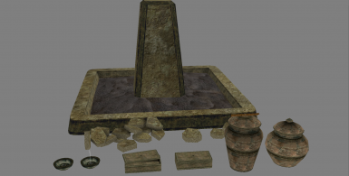 Tomb assets