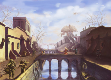Beautiful Cities of Morrowind