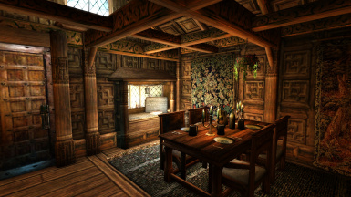 Cozy and detailed interiors
