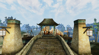 The Striderport in Vivec