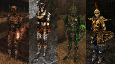 HiRez Armors - Native Styles V2 Fixed and Optimized and OpenMW Compatible