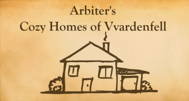 Cozy homes of Vvardenfell