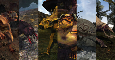 4thUnknowns Creatures Morrowind Edition