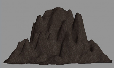 RTS Land Mesh Pack 2  Caves and Mountains