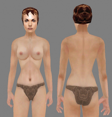 RTS Better Bodies Female Textures  Briefs Only