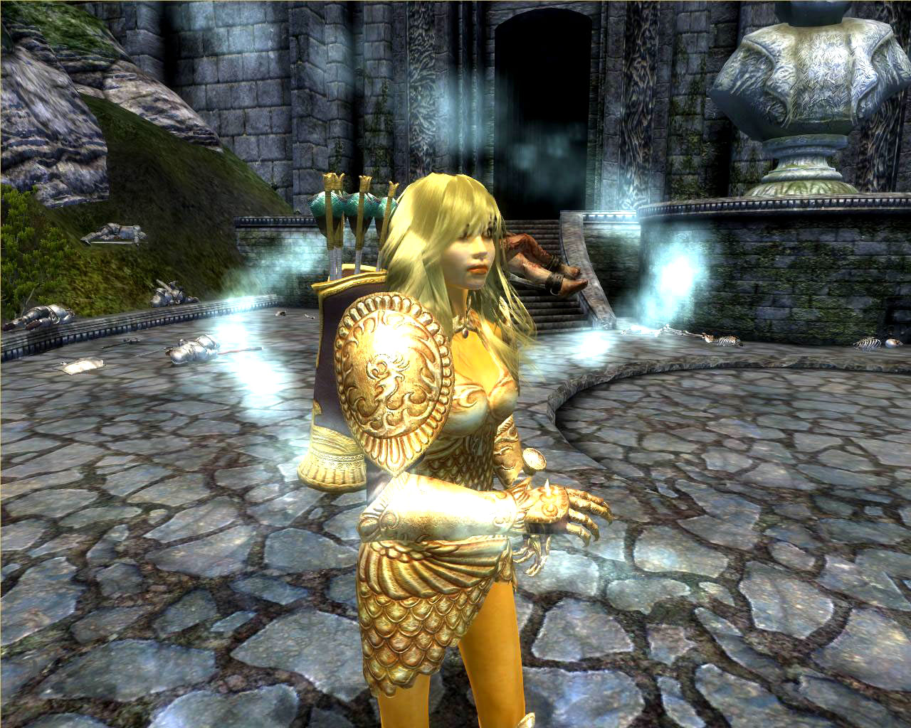 Oblivion golden saint sex mod adult gallery