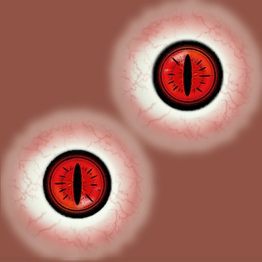 Naruto Nine Tail Fox And Sharingan Eyes At Oblivion Nexus