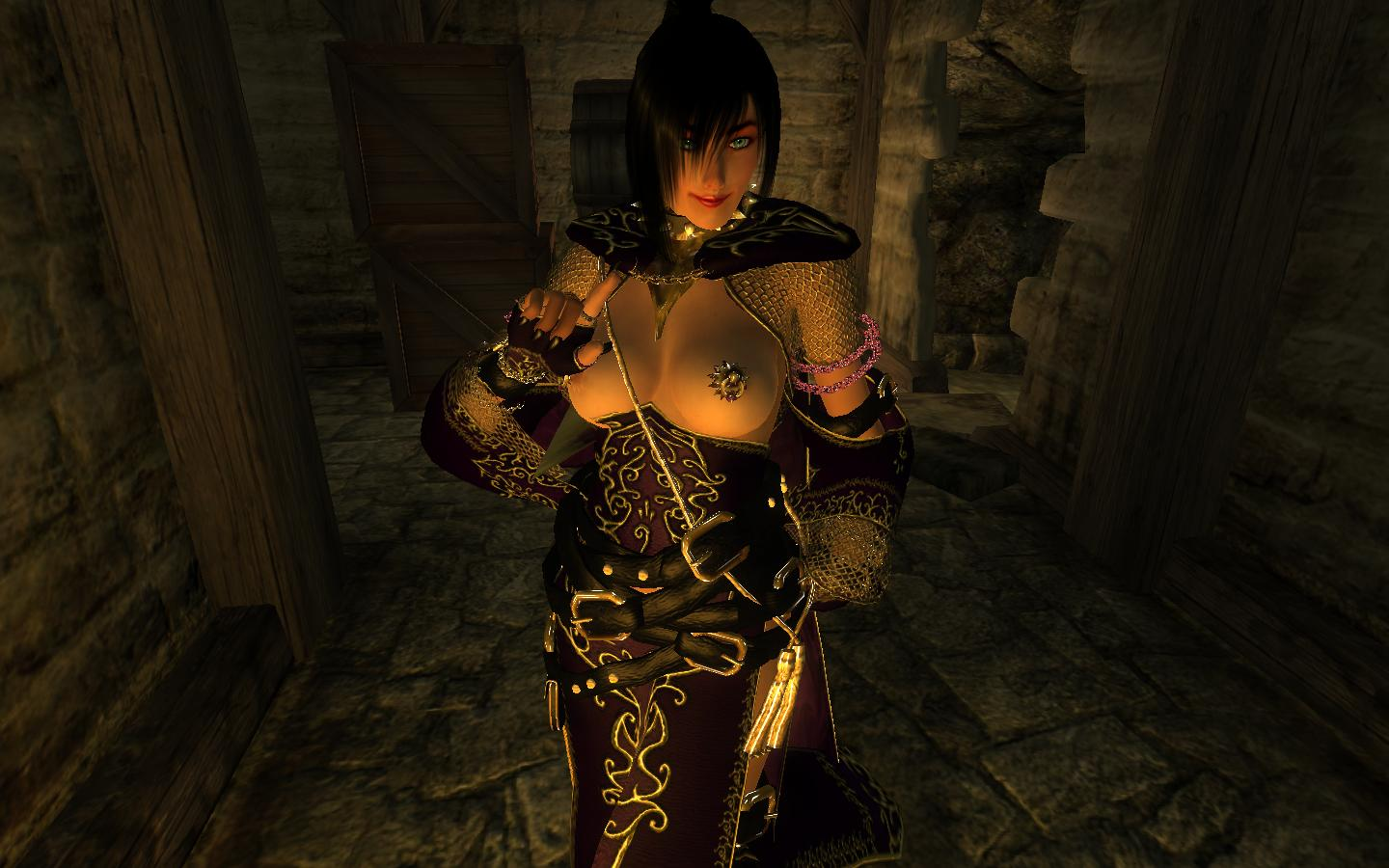 Oblivion nudity mod adult image