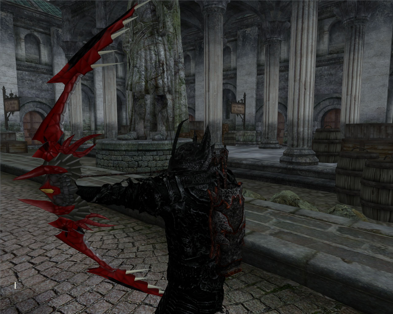 dragon bow at oblivion nexus mods and community