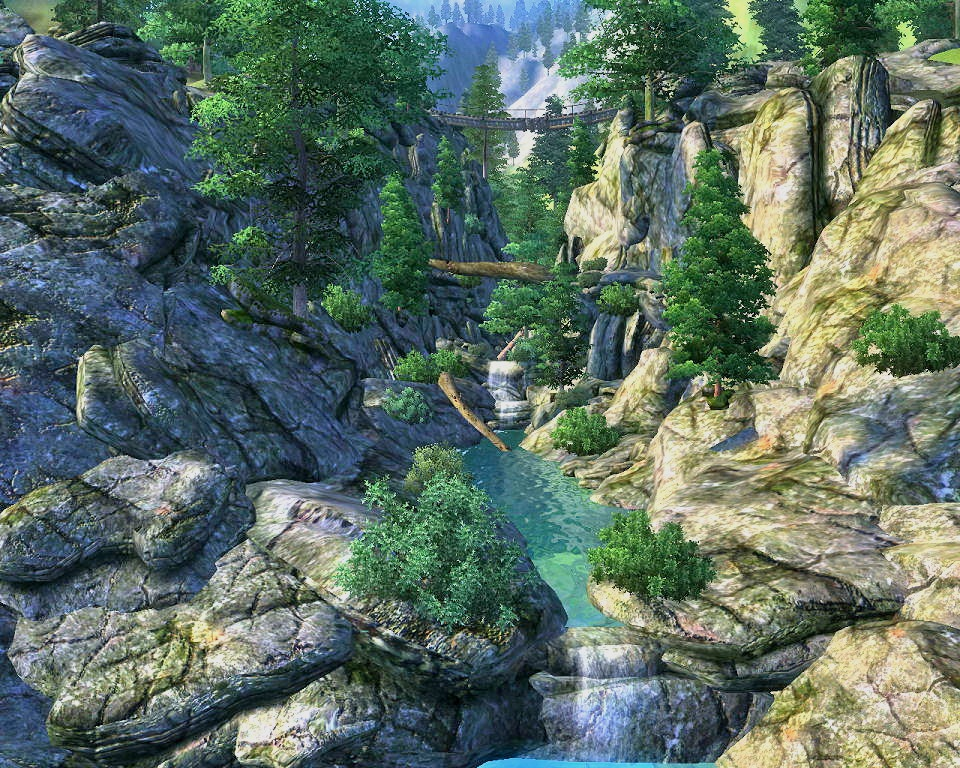unique landscapes compilation at oblivion nexus mods and