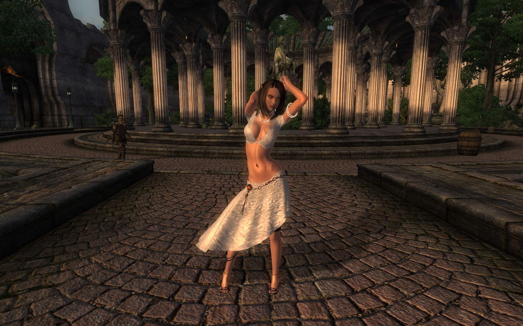 Morrowind mod female topless nsfw photo