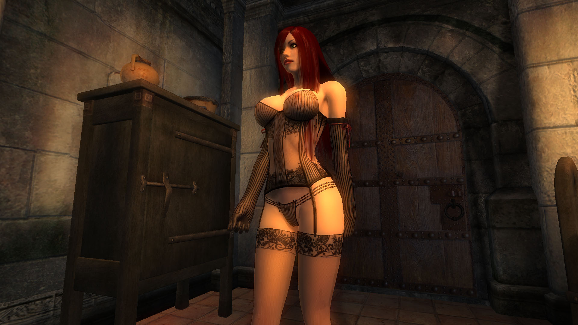 Oblivion porn cartoon girlfriend