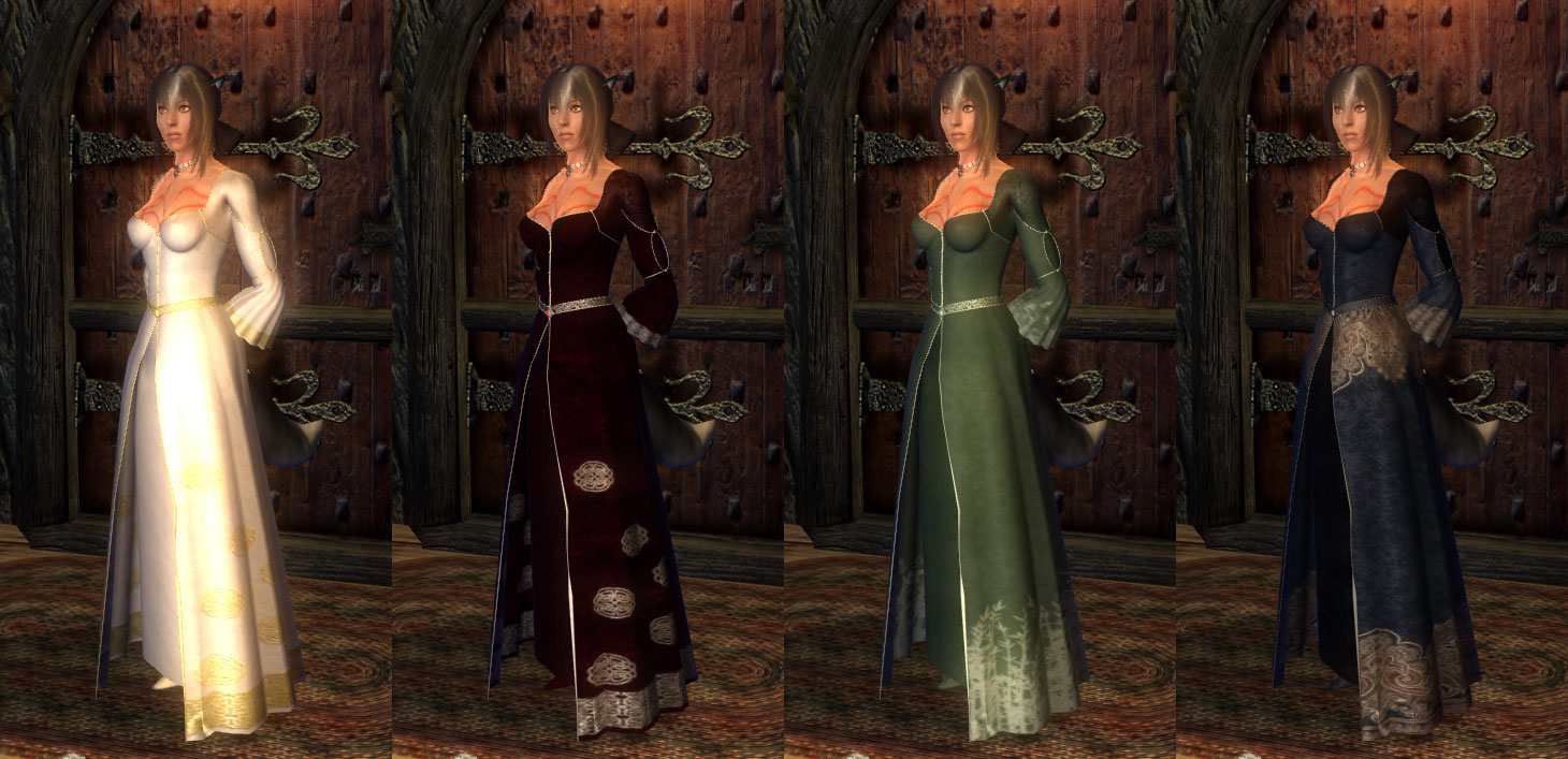 Uff Celtic Witch Robes At Oblivion Nexus Mods And Community