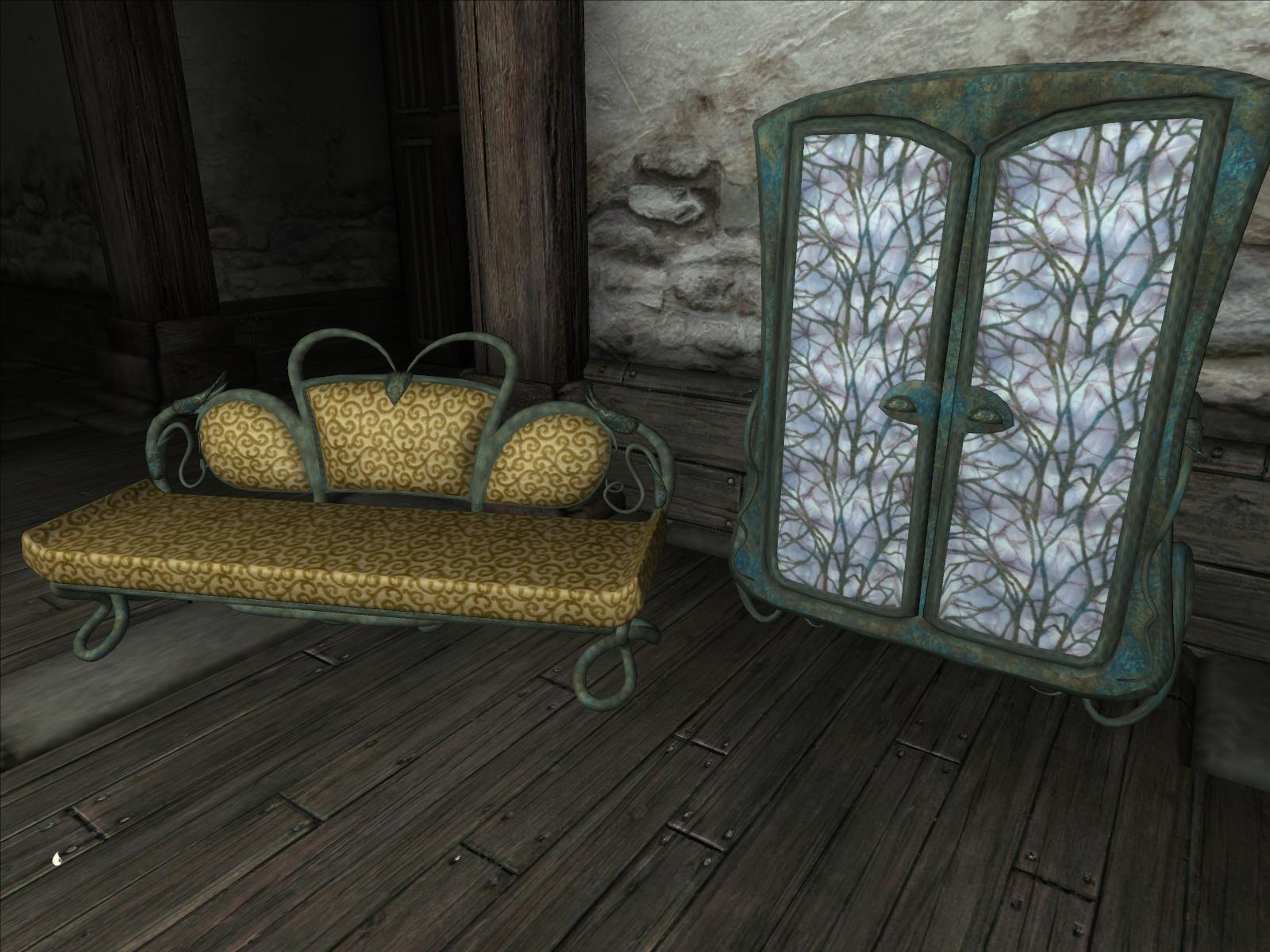 Ancient Elven Furniture For Modders At Oblivion Nexus   Mods And Community