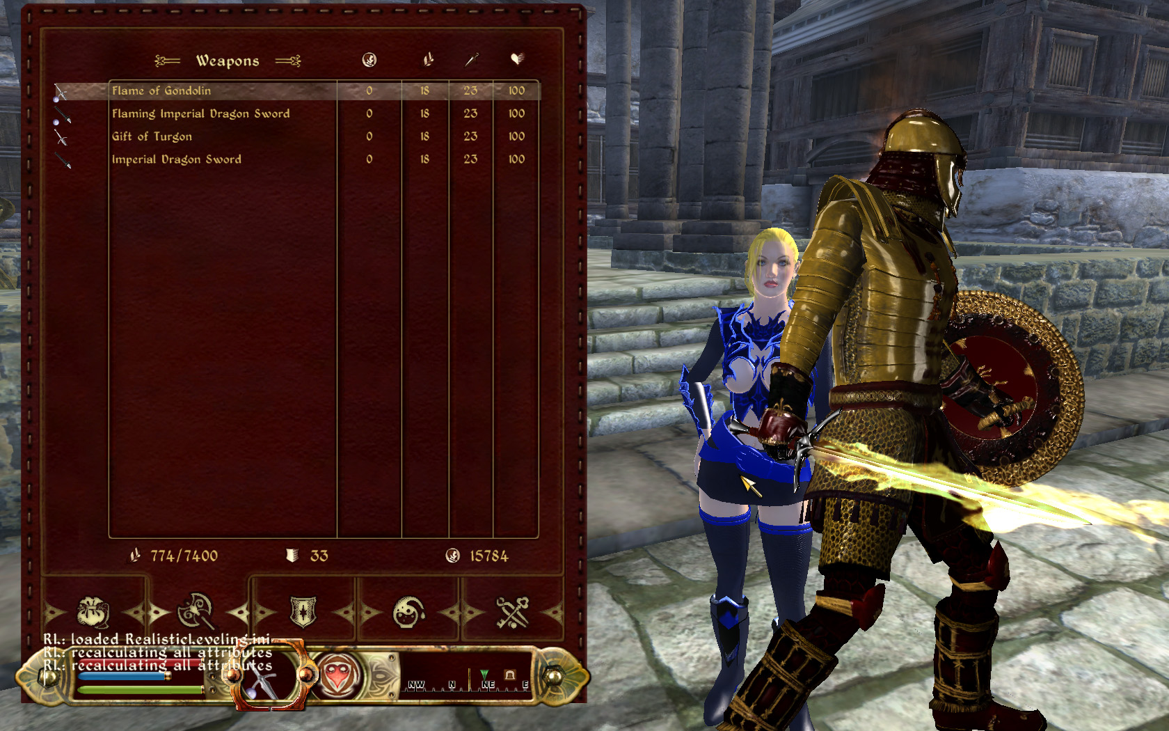 imperial dragon armor replacer at oblivion nexus mods and community