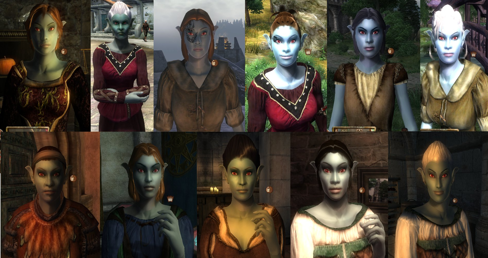 Oblivion elf mods anime pic