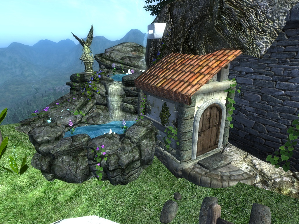 Flying Island House At Oblivion Nexus Mods And Community