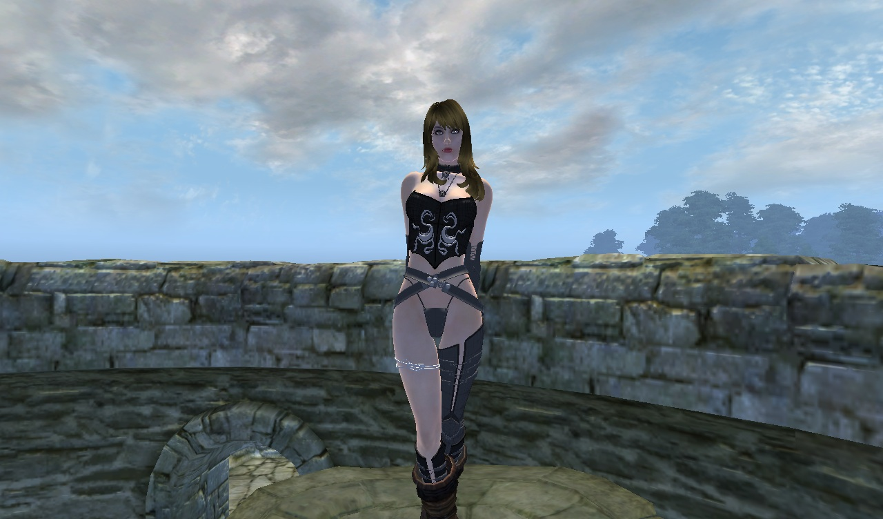 last chaos sorceress armor at oblivion nexus mods and community. Black Bedroom Furniture Sets. Home Design Ideas