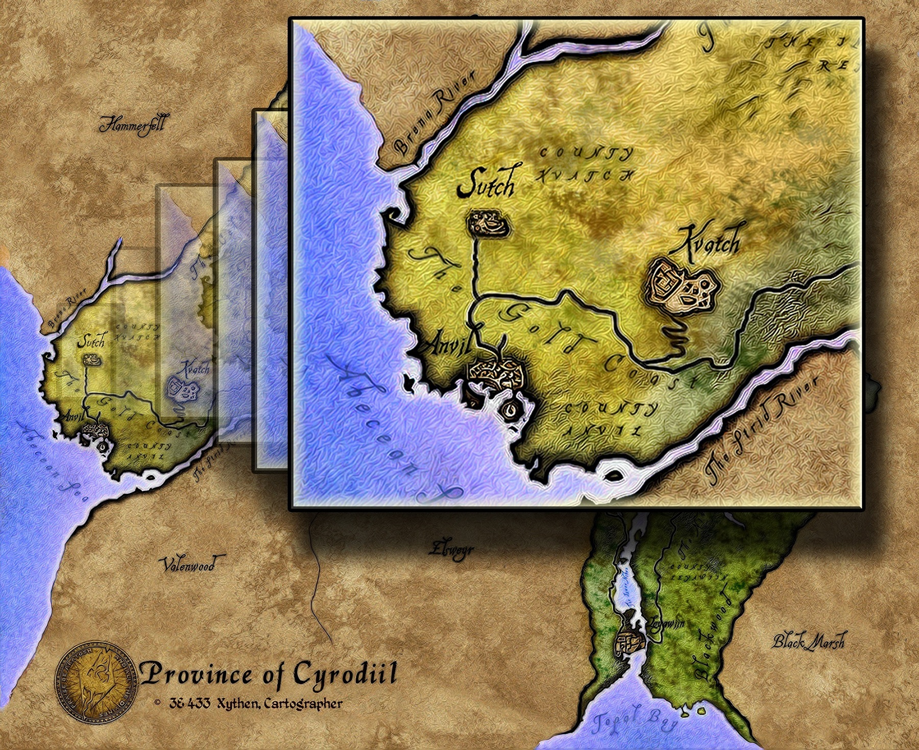 Impereal Empire Unique Cities Sutch At Oblivion Nexus Mods And