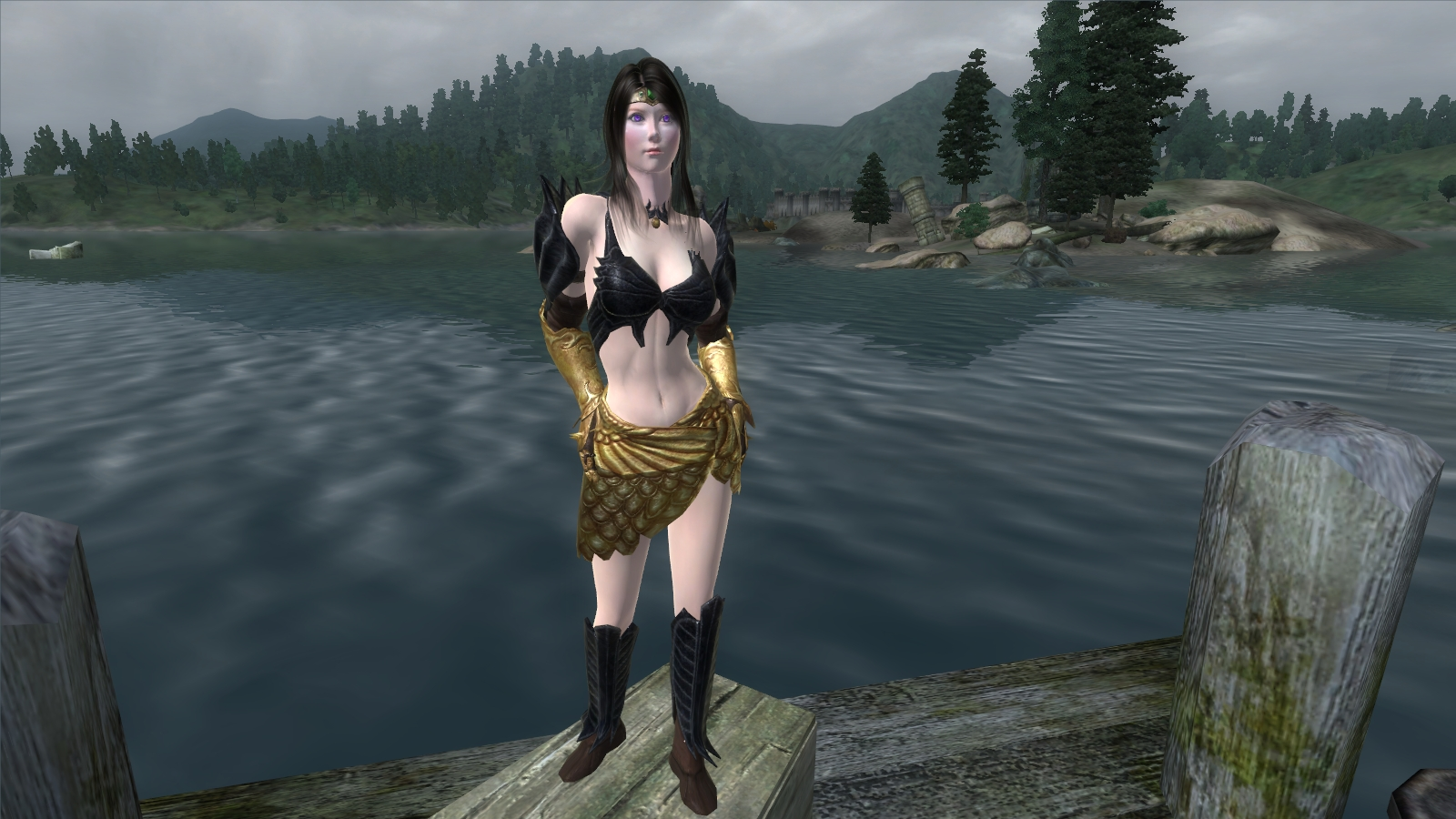 Oblivion golden saint nude mod anime galleries