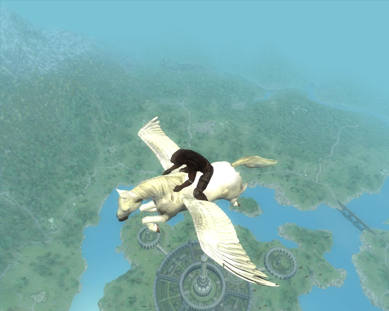 ridable flying pegasus at oblivion nexus mods and community