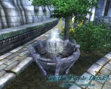 Temple District Fountain
