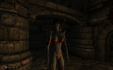 Female EyeCandy Amazon Armor 01